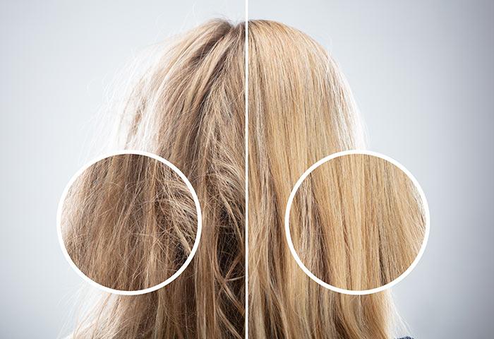 Défrisage cheveux